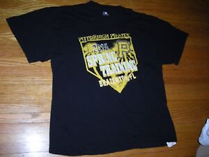 promo code aa51c d4aa9 Details about 2015 MLB, Pittsburgh Pirates, Spring Training tee shirt,  adult XL, ex condition