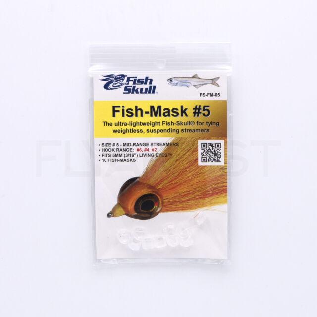 #5 FLY TYING YOU PICK SIZE #4 STREAMERS. FISH SKULL MASK BAITFISH HEAD #6