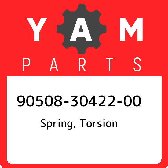 Yamaha 90508-30422-00 SPRING,TORSION; 905083042200