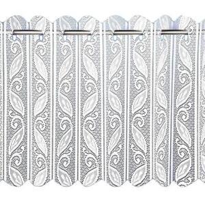 Hojas-Geometricas-de-Encaje-Blanco-ventana-neto-Plegable-Plisado-Vertical-Persianas-ranura-superior