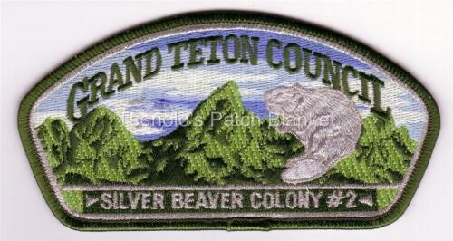 Grand Teton Council 2005 SA-118 Silver Beaver Csp Mint Condition FREE SHIPPING