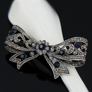 Hot-Women-Rhinestone-flower-Wedding-Party-Hair-Clip-Accessories-Hairpin-barrette