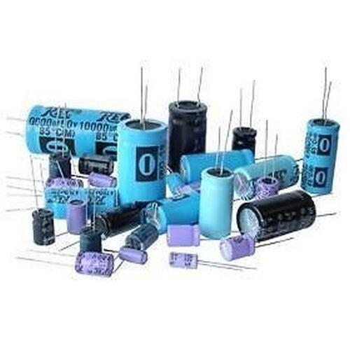 10pz 2,2uf//100v Electrolytic Capacitor Vertical