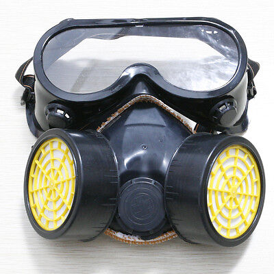 Gas Mask Carbon Filter Antigas Anti Dust Mask Respirator Mask/Goggles Paint Kit