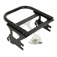 Detachable Two-up Tour Pak Pack Mount Luggage Rack For Harley Touring 1997-2008