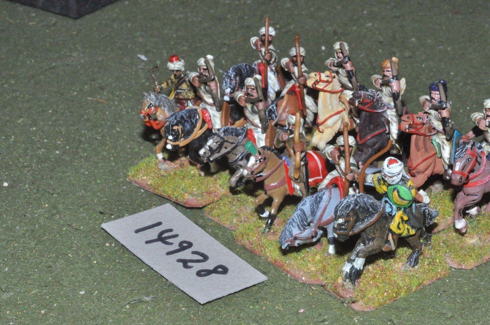 25mm medieval   turkish - seljuk cavalry 12 cavalry - cav (14928)