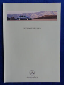 Mercedes-Benz-C-Klasse-Limousinen-C-43-AMG-W202-Prospekt-Brochure-11-1999