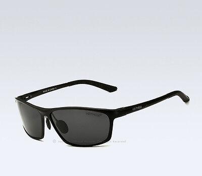 VeithdiaMens UV400 Polarized Aviator Sunglasses Outdoor Driving Sports Glasses