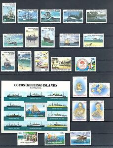 ENGLISH COLONY COCOS ( KEELING) ISLANDS 22 ST. + 1 Bl. SHIPS ** MNH VF - Wesepe, Nederland - EBay HAVE A GOOD AUCTION SEE FOR MORE IN OUR EBAY SHOP POSTZEGELEXPRESPHILATO LOOK AT WWW. STORES.EBAY.NL / POSTZEGELEXPRESPHILATO LOOK AT WWW.STORES.EBAY.COM / POSTZEGELEXPRESPHILATO MET VOLLEDIGE ECHTHEIDS GARANTIE -PAYMENT-BY PAYPAL - Wesepe, Nederland