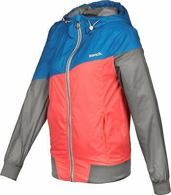 Bench Damen Jacke mit Kapuze BLWK 001873 core colourblock Windbreaker | eBay
