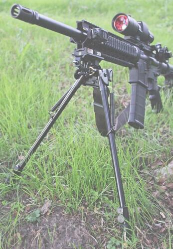 "13/"" to 27/"" Harris Style long range Shooting Swivel Rifle Gun Bipod W// pod-loc"