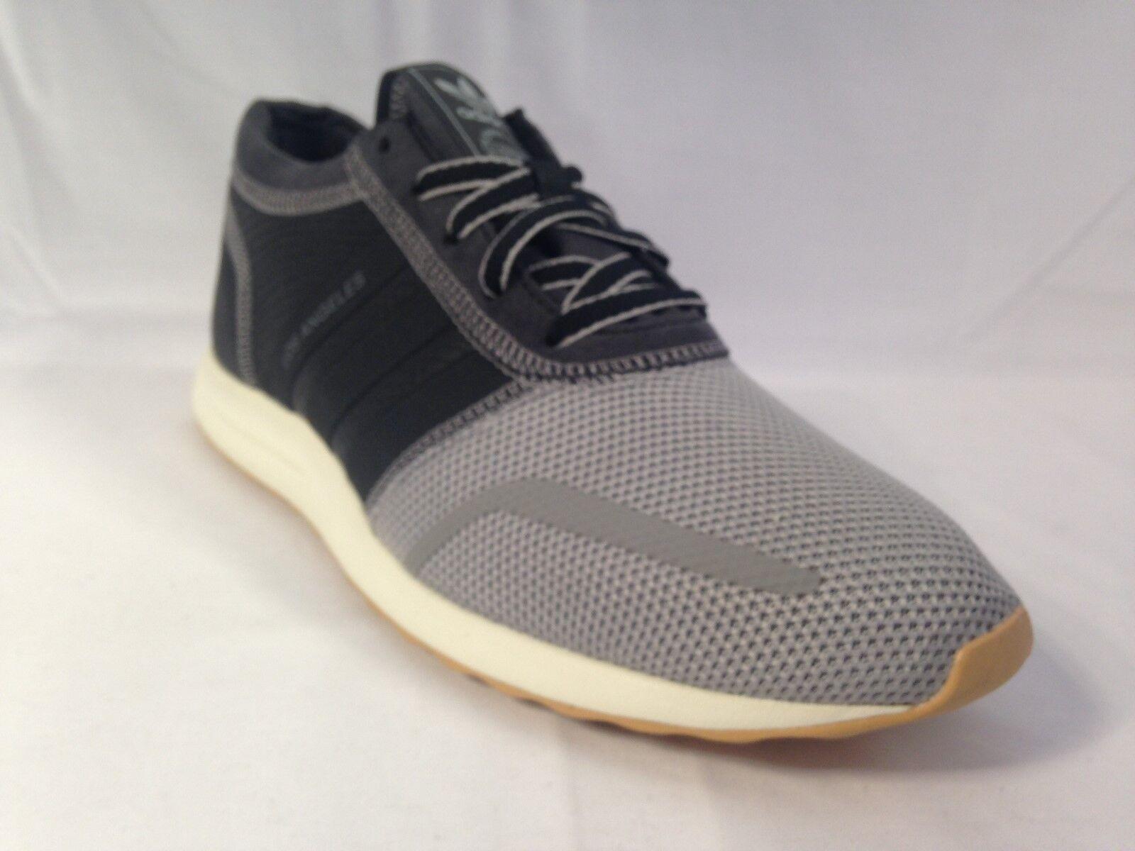 Adidas La pour homme trainer AQ5788 gris/navy/gum taille: uk 7.5
