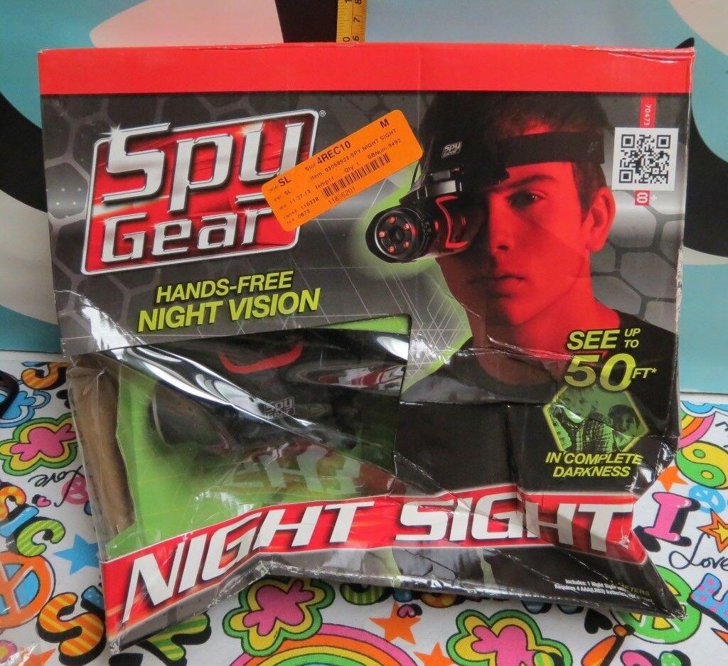 Spionage - ausrüstung - letzte nacht vision anwendungsbereich & kopf - erstbezug googles