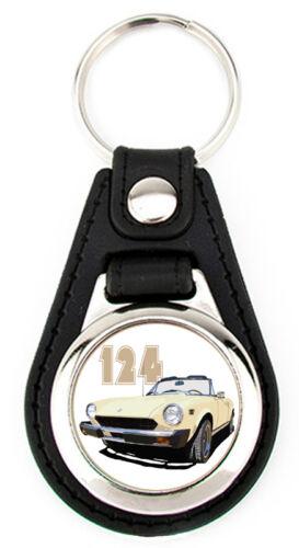 Fiat 124 Sport Spider Key Fob