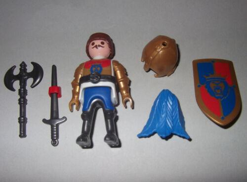 37052 mit Helm Löwenritter Ritter Schwert und Schild Axt