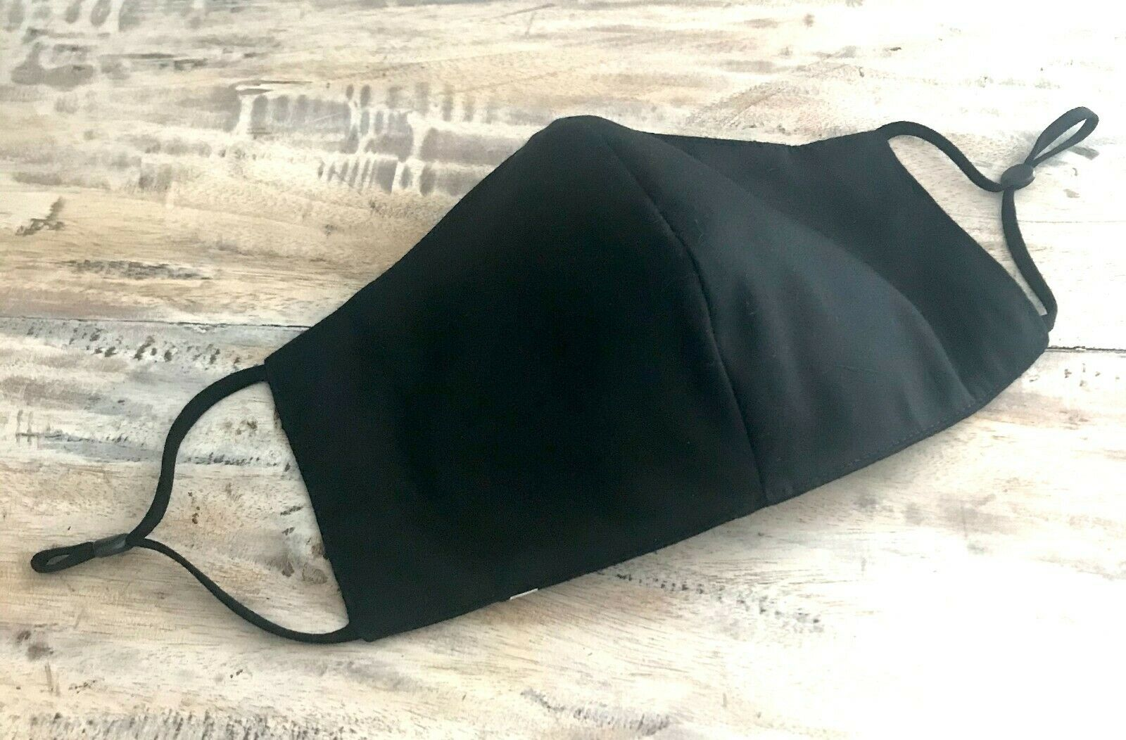 10 x Cotton Face Mask 3 Layers Black,Reusable & washable Masks made in Australia