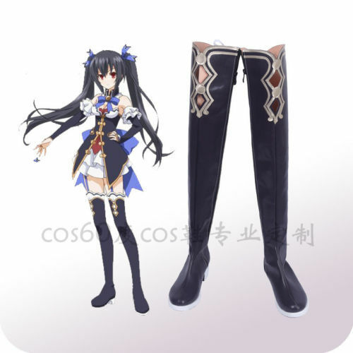 Hyperdimension Neptunia Cosplay Noire The 2nd cosplay shoes costom made