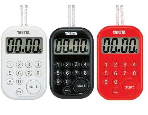 New TANITA 100min Digital Kitchen Cooking Timer TD-379 3 colors Alarm Japan