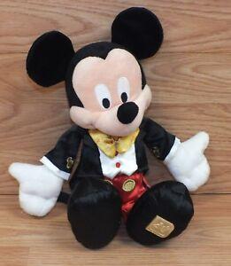 40th Anniversaire De Walt Disney Monde / Land 30.5cm ( Pouce) Mickey Mouse