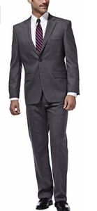 NEW-Haggar-Men-039-s-Premium-Motion-Panels-Stretch-Suit-Coat-VARIETY-Size-amp-Color
