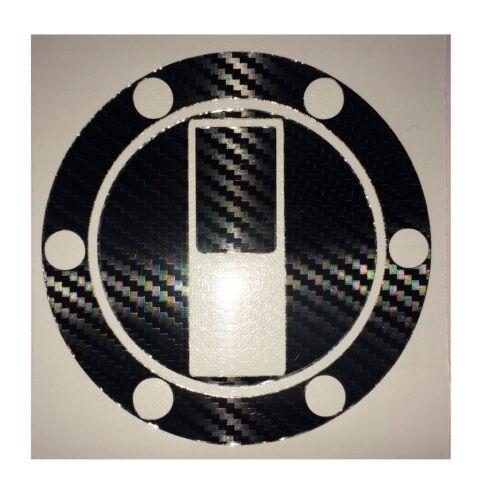 TRIUMPH T595 955i 1997-2003 Carbon Fiber Look Fuel Cap Protector Cover