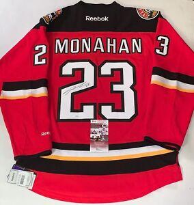 c7a76224f Image is loading Sean-Monahan-signed-Calgary-Flames-Reebok-Premier-jersey-