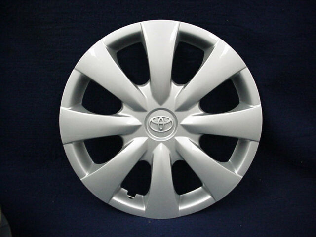 Toyota Corolla 09 13 15 8 Spoke Silver Wheel Cover With Emblem