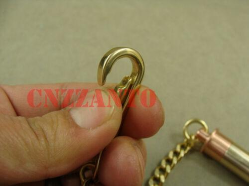 Copper Outdoor EDC Waterproof Capsule key chain Seal pill Bottle Retro Brass