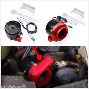 Image Is Loading Black Amp Red Abs Vehicle Fake Turbo Electronic