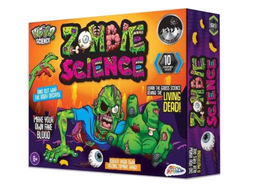 BIZARRE Crazy Science Zombie Halloween Horreur Experiment Set Kids Lab Activity