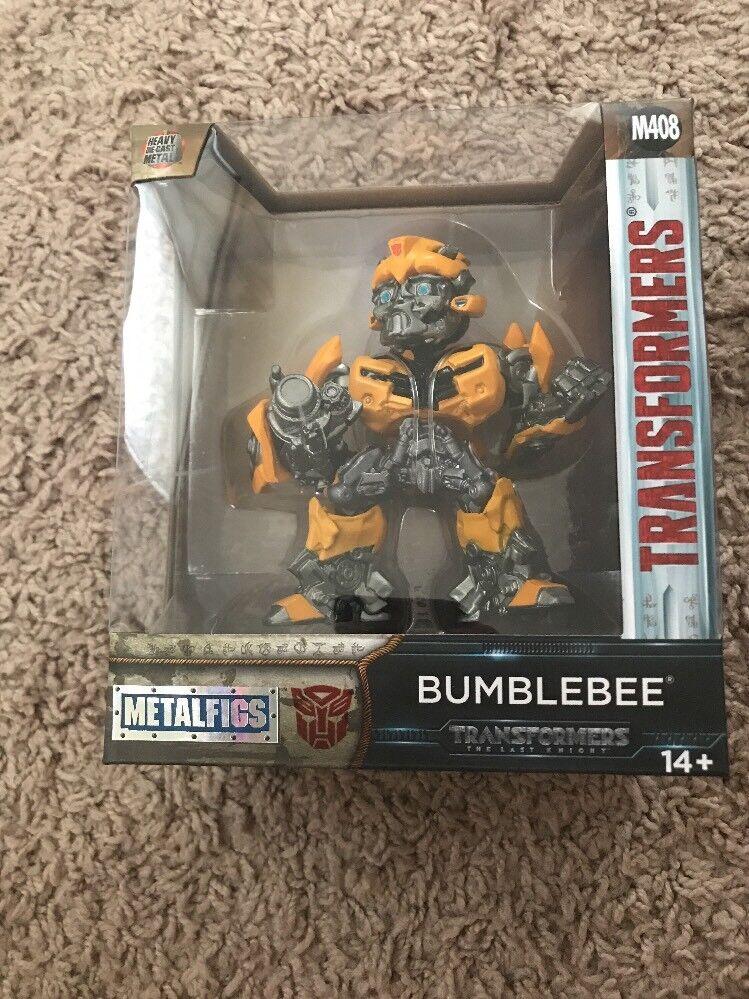 Bumblebee Transformers Last Knight 4  Metal Figure Jada 99387