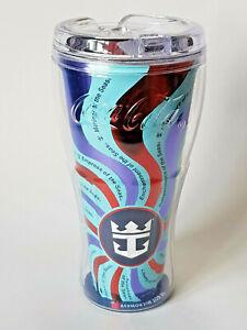 COCA-COLA-Royal-Caribbean-Cruise-Red-Freestyle-Souvenir-Cup-Tumbler-EXCELLENT