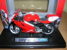 Welly CAGIVA MITO 125 ROSSO RED MOTO MOTORBIKE MOTO, 1:18