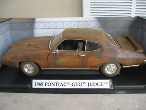 1 18 1969 Pontiac Gto Judge Barn Encontrar