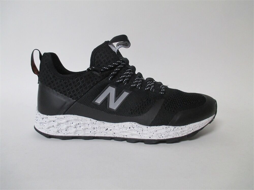 New Balance MFLTBDBK Black Grey Trainers Sz 10 MFLTBDBK