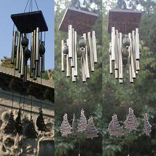 Windspiele Glocken Kupfer 12xTubes Outdoor indoor Garten Wanddekoration Figur