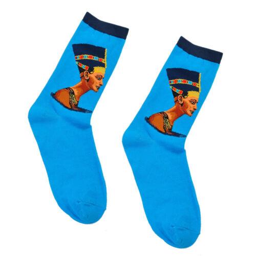 Art Painting Socks Novelty Artist Series Starry Night Men Women Famous Sox