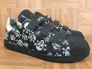 reputable site dbd38 5f7f7 ... Vintage-Adidas-Superstar-Hecho-En-Corea-Calaveras-De-