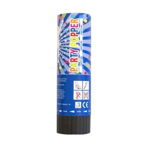 Canon à confettis 15 cm petit Printemps action avec couleurs mélangées Pack de 2
