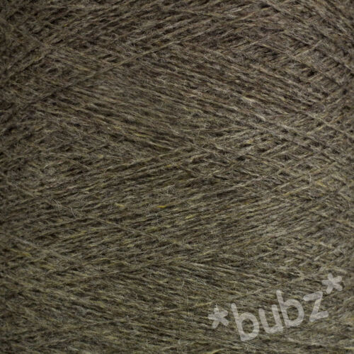 Pur shetland laine pebble marron 500g cône 10 ball 3 4 plis tricot tissage fil
