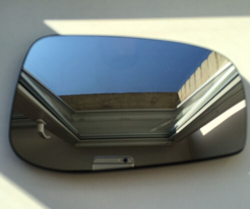 plate Left side blue Wing door mirror glass for Volvo S60 2003-2006 heated