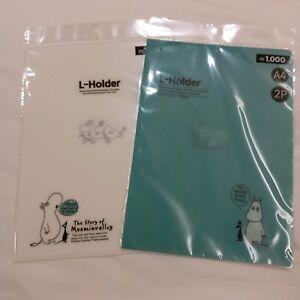 MOOMIN-VALLEY-Moomintroll-A4-Plastic-Folder-2-Pieces-Set