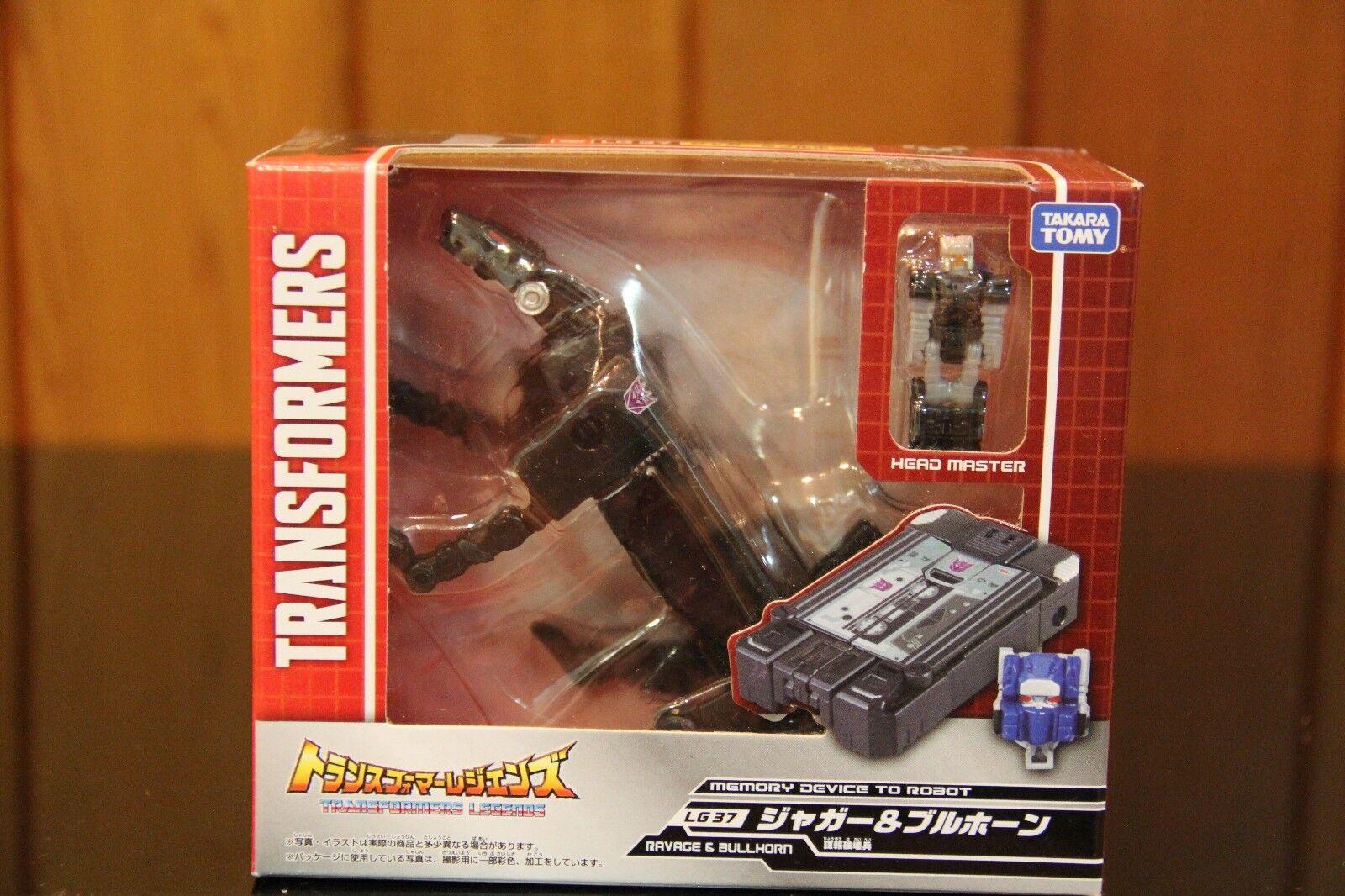 Takara Transformers Legends Series LG 37 & LG38