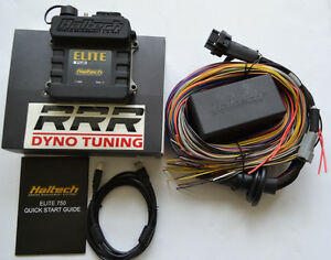 Details about Haltech Elite 750 ECU & universal premium 8 ft wiring on