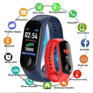 Smart-Band-Watch-Bracelet-Wristband-Fitness-Tracker-Blood-Pressure-HeartRate-New