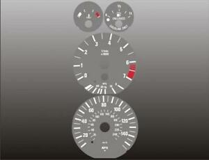 1996-2004-BMW-E39-E38-E53-5-Series-Dash-Cluster-GREY-Face-Gauges