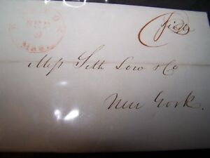 1843-US-STAMPLESS-LETTER-NEW-YORK-NY-With-COA
