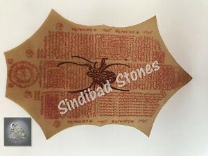 spider amulet طلسم العنكبوت حماية البيت والعائلة حجاب يتحرك روحاني تميمة