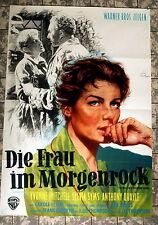 FRAU IM MORGENROCK * Yvonne Mitchell - A1-FILMPOSTER - German 1-Sheet 1958