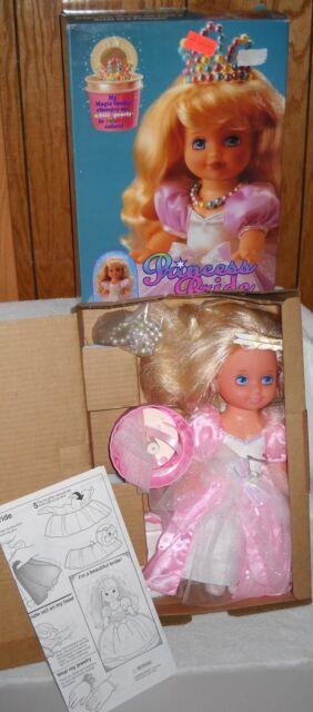 #8799 NIB VIntage Mattel Lil Miss Princess Bride Doll